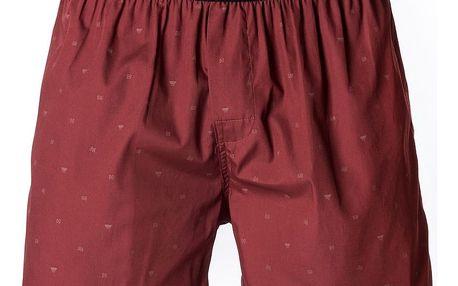Pánské Trenky Horsefeathers Frazier Boxer Shorts Ruby M