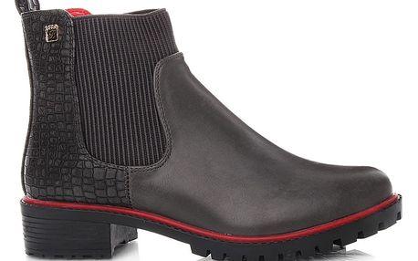 Moderní kotníkové boty 1107A-5G 38