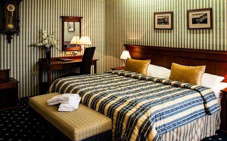5 dní v Golf Hotelu Morris**** v Mariánských Lázních procedurami
