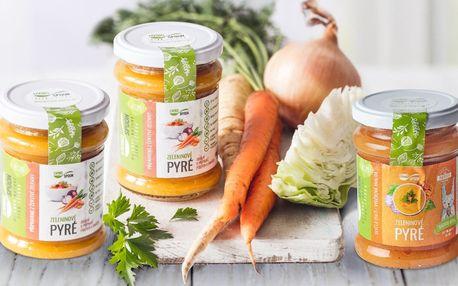 Lahodné zeleninové pyré od českého výrobce