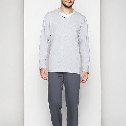 Pánské pyžamo Regina 507 M-XL dł/rmix,M