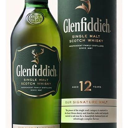 Whisky Glenfiddich 12YO 0,7l 40%