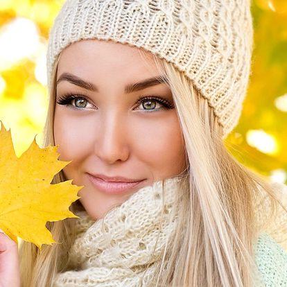 Kompletní kosmetické ošetření s masáží obličeje