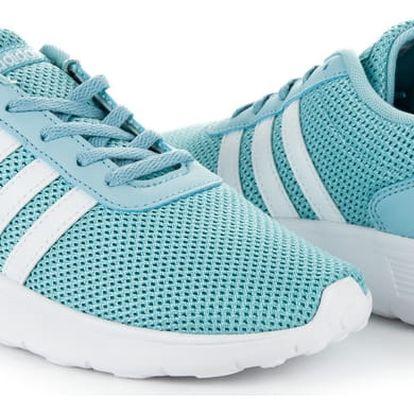 Pohodlné světle modré tenisky Adidas 37