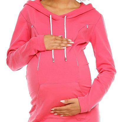 Těhotenské šaty model 94418 PeeKaBoo L
