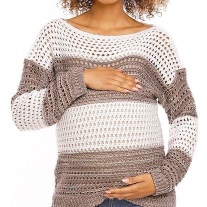 Těhotenský svetr model 94456 PeeKaBoo UNIWERSALNY