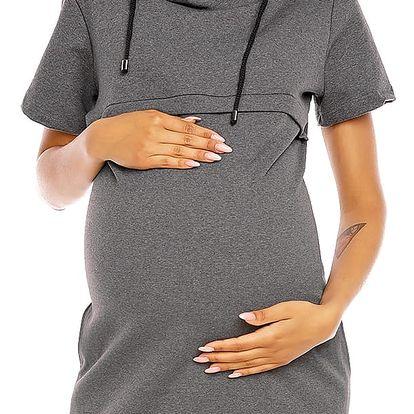Těhotenské šaty model 94426 PeeKaBoo XL