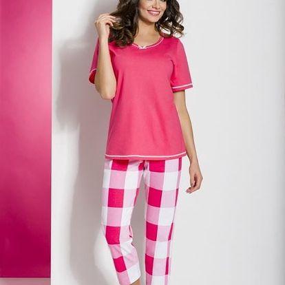 Dámské pyžamo Regina 823 S-XL kr/rmix,M