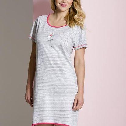 Noční košile Regina 294 S-XL kr/rmix,S