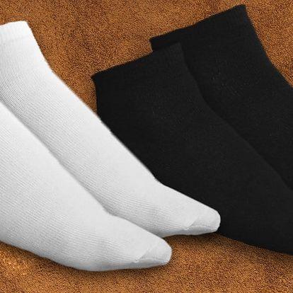 15 párů bambusových ponožek