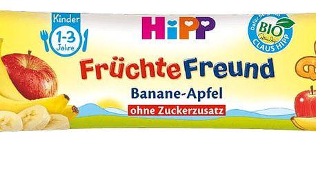10x HIPP BIO Tyčinka Banán – Jablko 25 g