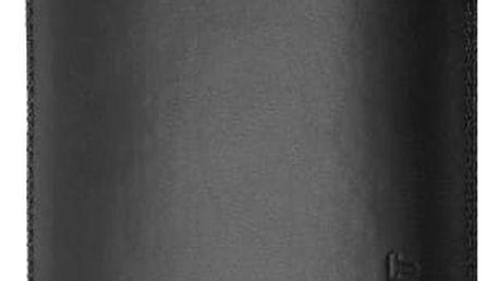 Pouzdro na mobilní telefon FIXED Pouzdro Soft Slim se zavíráním, PU kůže, velikost XXL, černé matné (137 × 70 × 7,9 mm)