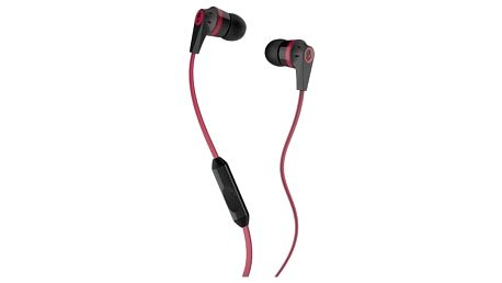 Sluchátka Skullcandy INKD 2.0 Black/Red w/ Mic