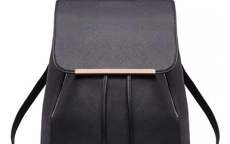 Dámský černý batoh Beate 1669