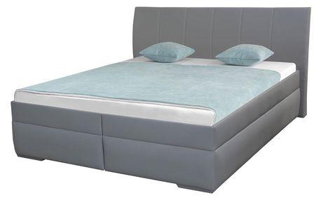 Zvýšená čalouněná postel LAILA 2