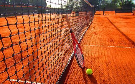 Lekce tenisu s profesionálním trenérem