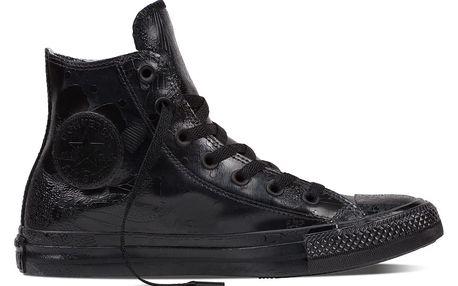 Converse černé lesklé tenisky CTAS HI Black
