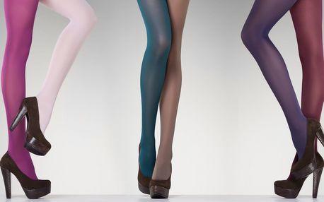 5 kusů barevných punčoch Fiore