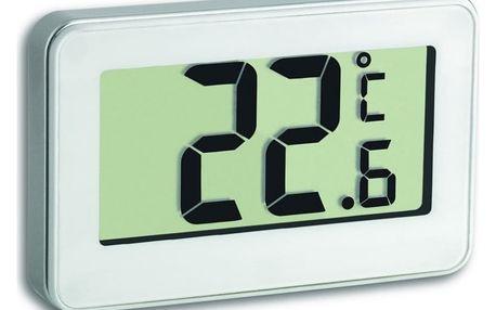 Meteostanice TFA Digitální teploměr do lednice 30.2028.02 – bílý