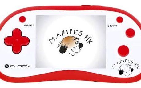 Herní konzole GoGEN Maxipes Fík MAXI HRY 180 R červená