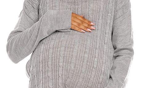Těhotenský svetr model 94430 PeeKaBoo UNIWERSALNY