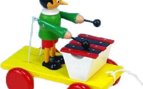 MIVA Pinochio s xylofonem tahací – dřevo