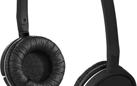 Sluchátka Hama Joy Slim, uzavřená, černá 93080