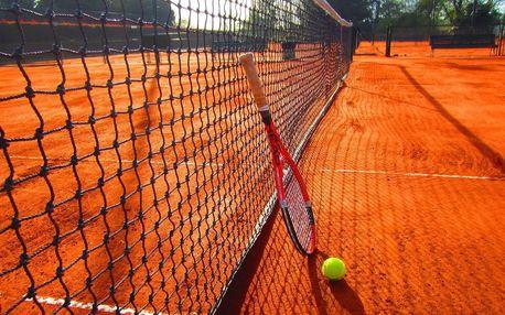 Lekce tenisu s profesionálem