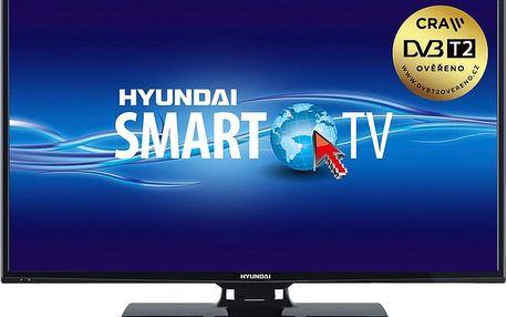 Hyundai FLN 40T211 SMART - 102cm - HYUFLN40T211SMART + Flashdisk A-data 16GB v ceně 200 kč