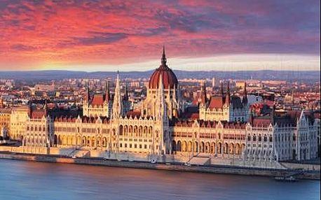 Pobyt v Budapešti ve 3* hotelu se snídaní a plaveckým bazénem