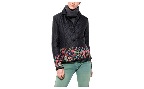 Desigual černá bunda Padding Juliette
