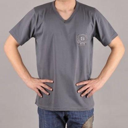 Tričko pánské Filip tyrkysová XL