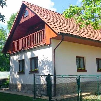 Vybavená chalupa v Českém ráji až pro 10 osob