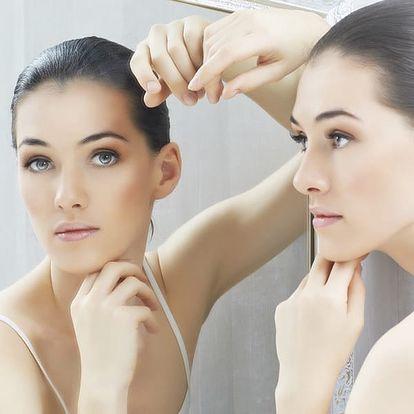 Omlazení obličeje, krku nebo dekoltu plazmovými toky s možností ultrazvukového čištění.