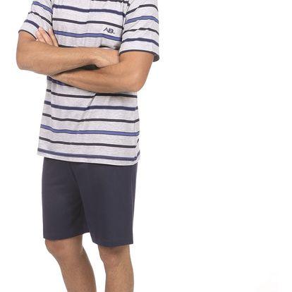 Pánské pyžamo CTM PERM.PSH XL