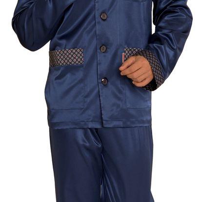 Saténové pánské pyžamo Adam XL