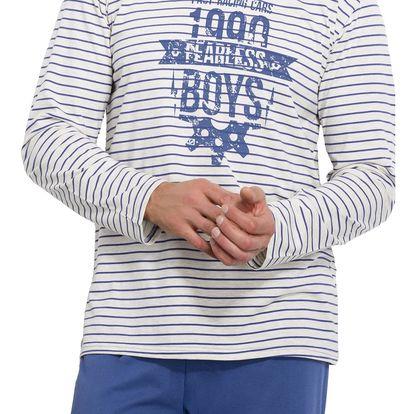 Pánské pyžamo Max modré L