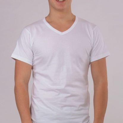 Pánské tričko Josef bílá S