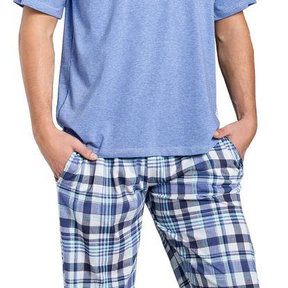 Pánské pyžamo Adam modré XL