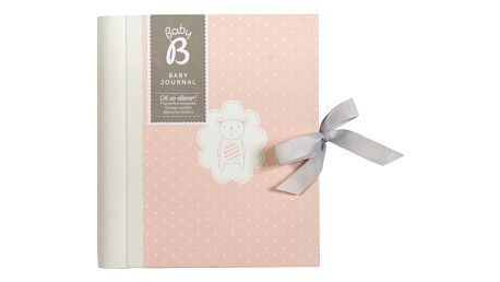 Busy B Deníček miminka Girl, růžová barva, papír
