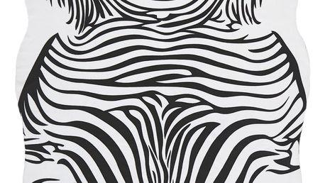 Koberec zebra, 120/180 cm