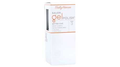 Sally Hansen Salon Gel Polish Step 3 Gel Top Coat 4 ml lak na nehty pro ženy