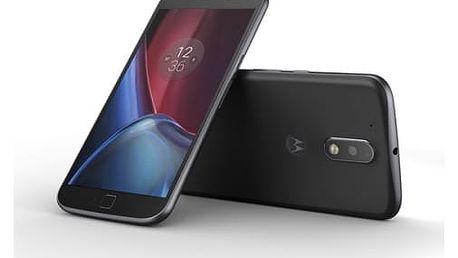 Mobilní telefon Motorola Moto G4 Plus Dual SIM (SM4378AE7N7) černý