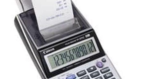 Kalkulačka Canon P 1-DTSC CP + AD-11 CP EURO (2494B003) šedá