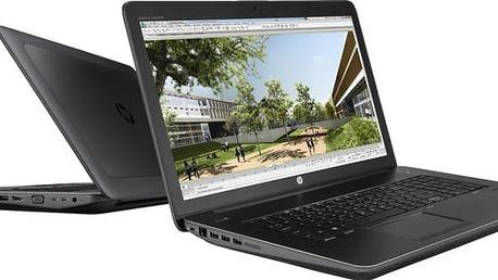 HP Zbook 17 G4, černá - 1RQ79EA