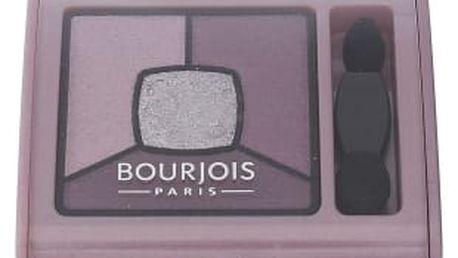 BOURJOIS Paris Smoky Stories Quad Eyeshadow Palette 3,2 g oční stín pro ženy 07 In Mauve Again