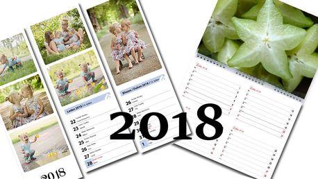 Fotokalendáře z vašich fotografií pro rok 2018