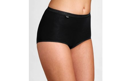 Kalhotky Sloggi Basic+ Maxi 2P černá Velikost do filtru: 54, Barva Triumph: černá (0004)
