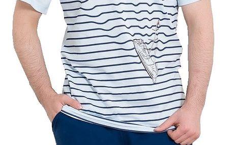 Pánské pyžamo Fabio modré S