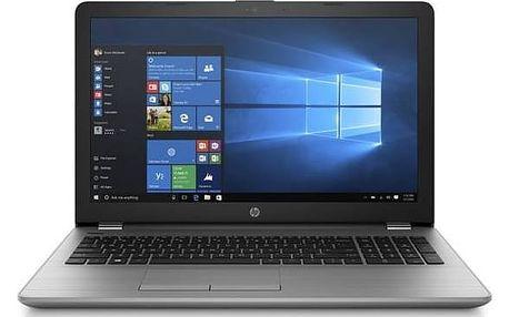 Notebook HP 250 G6 (1WY23EA) stříbrný Software F-Secure SAFE 6 měsíců pro 3 zařízení (zdarma) + Doprava zdarma